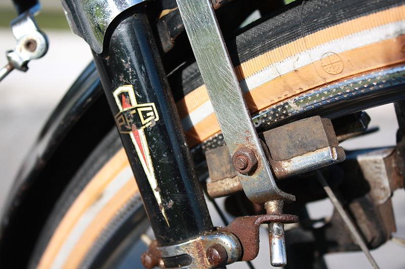 antique bicycle brake