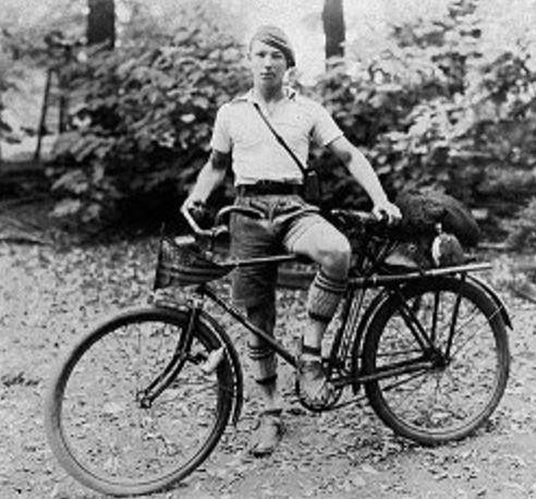 Fred Birchmore, enterprising bicycle rider