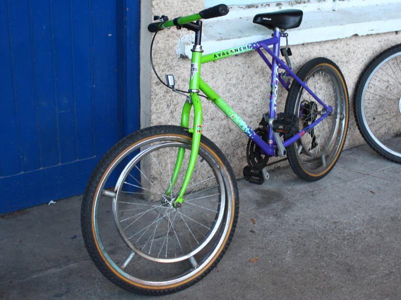elliptical art bike