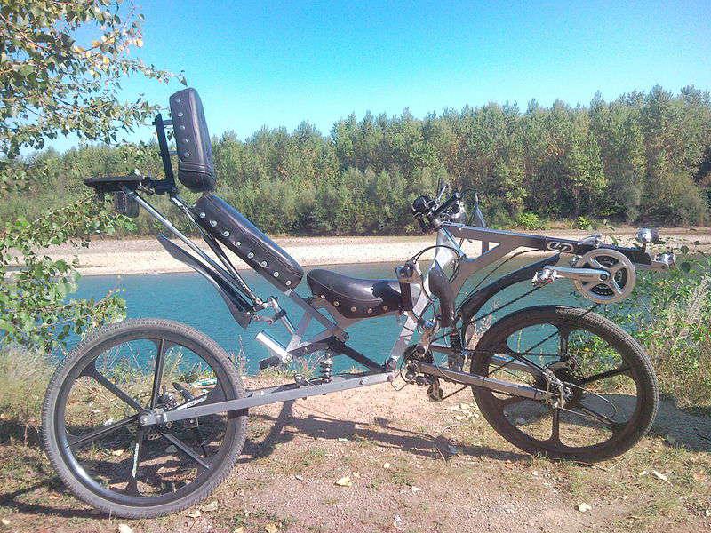 bent bike