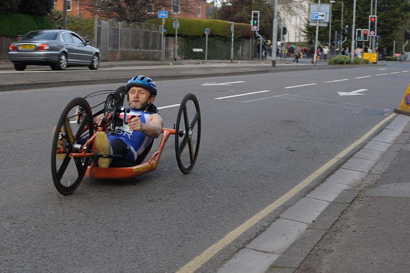 recumbent tricycle three-wheeler